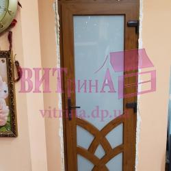 Эксклюзивные межкомнатные двери вид сразу после установки